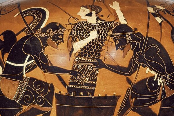 Board Games in Ancient Greece: a matter of life and death