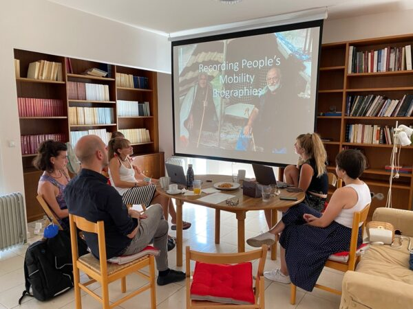 Finds Stories: Addressing Mobility through Object and People Biographies